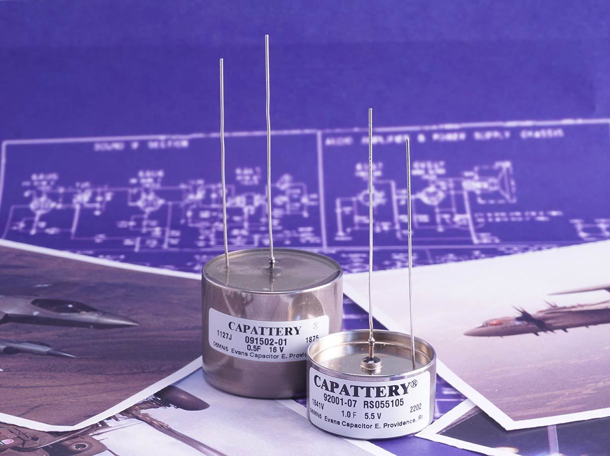 Evans Capacitor Company Capattery Series Capacitors