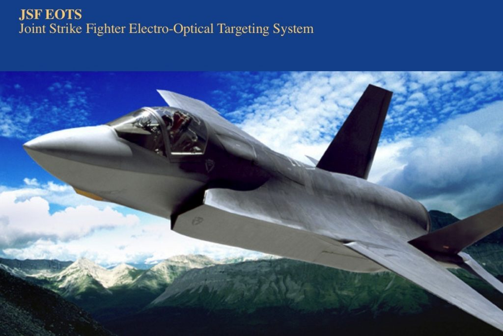 Joint Strike Fighter Electro-Optical Targeting System