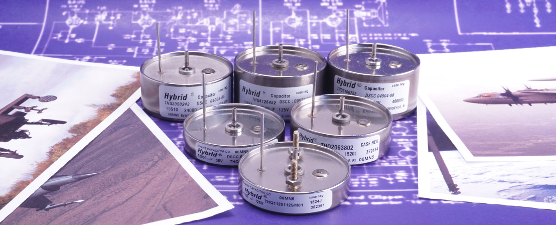 Evans Capacitor Company THQ Series Capacitors